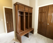 Mudroom and Boot Bench