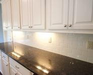 Kitchen Backsplash and Cabinetry