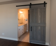 Barn Door to Master Bath