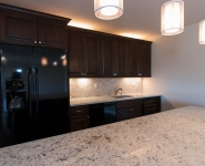 Full Wet Bar w/ Granite Tops
