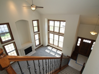 View of Entryway and Great Room