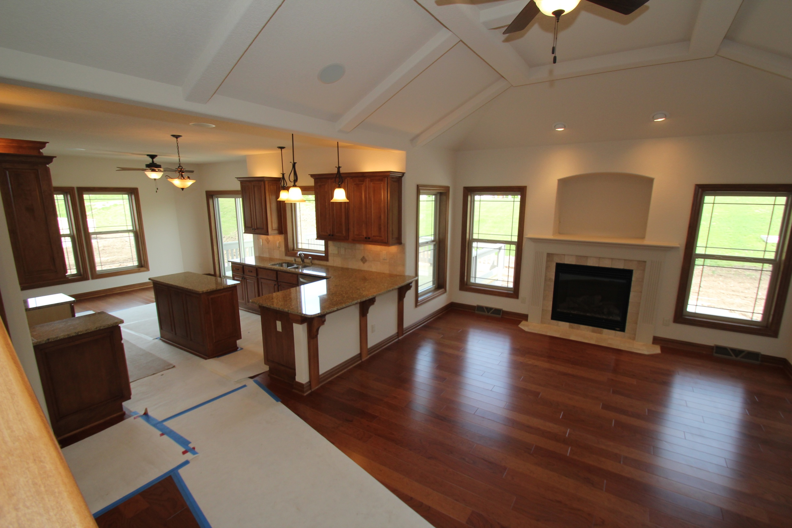The Great Room/Kitchen
