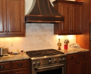 Kitchen Range and Hood