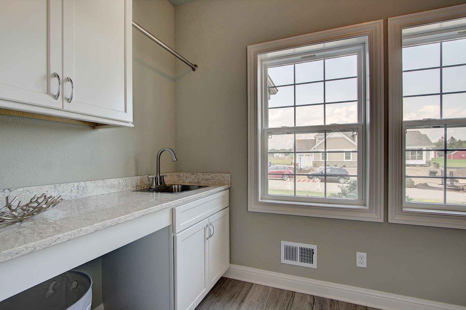 Laundry Room with Hanging /Folding Area