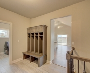 VIew of Mudroom