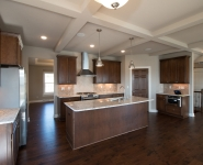 The Cattail - Stained Kitchen Cabinets